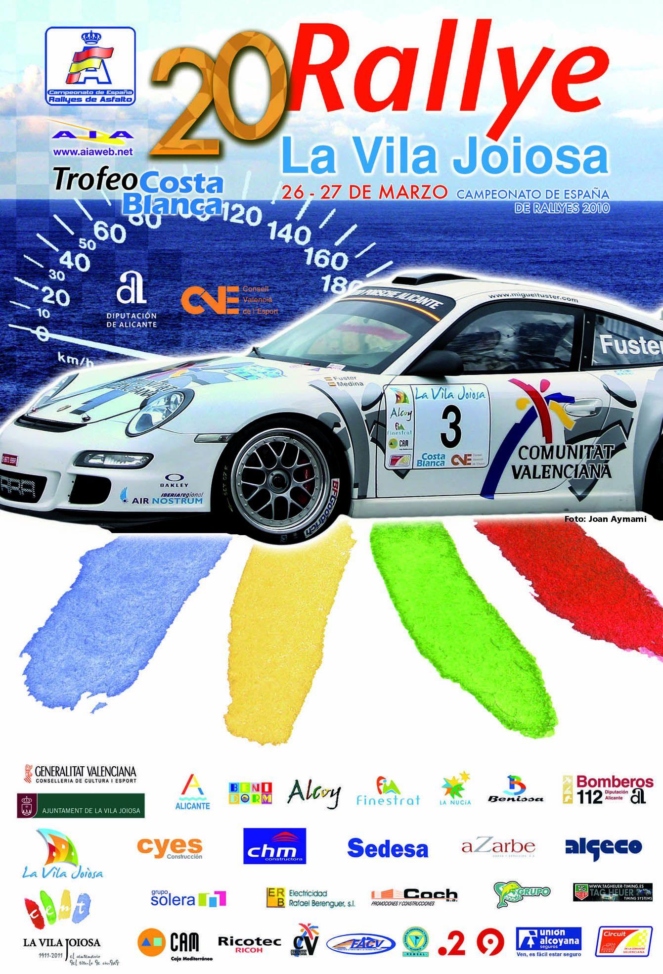 El Rallye Vila Joiosa da el pistoletazo de salida al Nacional de Asfalto Cartel20